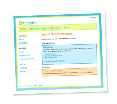 Screenshot Trigami