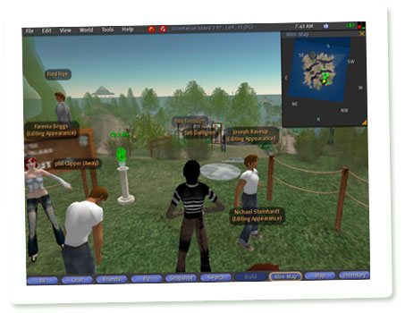 Screenshot Second Life