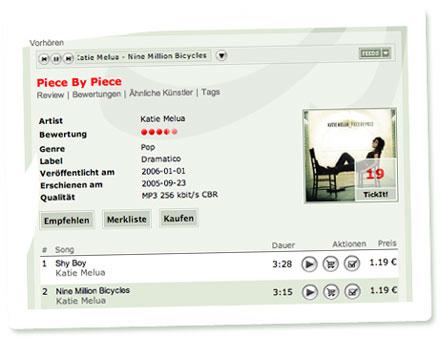 Screenshot akuma: Katie Melua - Piece by Piece