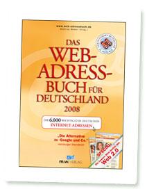 """Titelbild """"Web-Adressbuch für Deutschland 2008"""""""