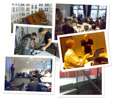 Collage BarCamp und PodCamp Berlin 2