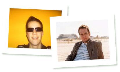 Yannick und Matthias