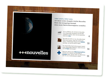 Nouvelles Nachrichten Screenshot