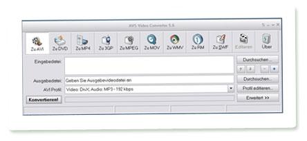 Screenshot AVS Video Converter