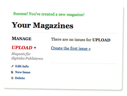 MagCloud: Magazine created