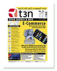 Titelbild T3N Magazin Nr. 13