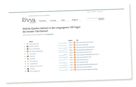Screenshot: Rivva Leitmedien