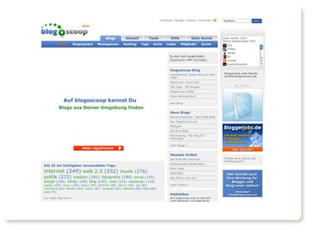 Screenshot blogoscoop