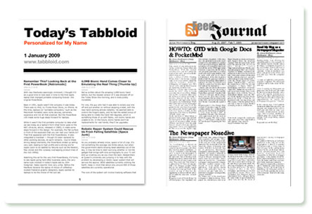 Tabbloid und Feedjournal