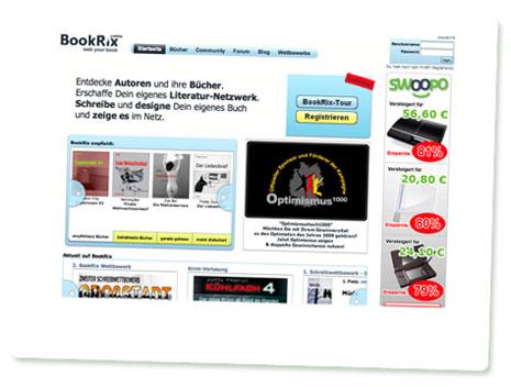 Screenshot Bookrix