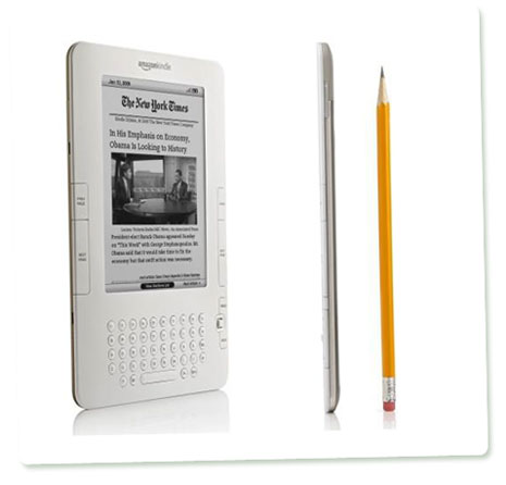 Amazon Kindle 2 und die New York Times