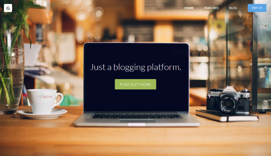 ghost - Just a blogging plattform