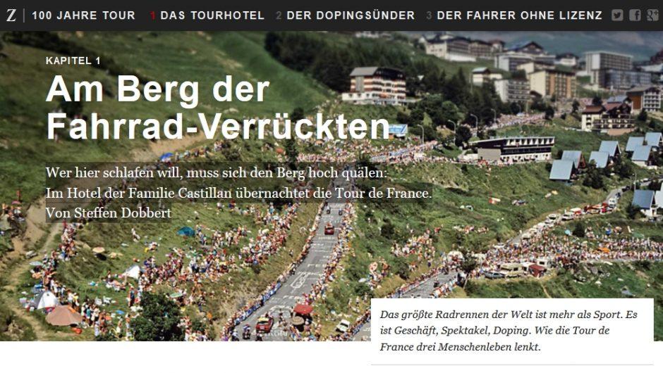 Zeit Online - Am Berg der Verrückten