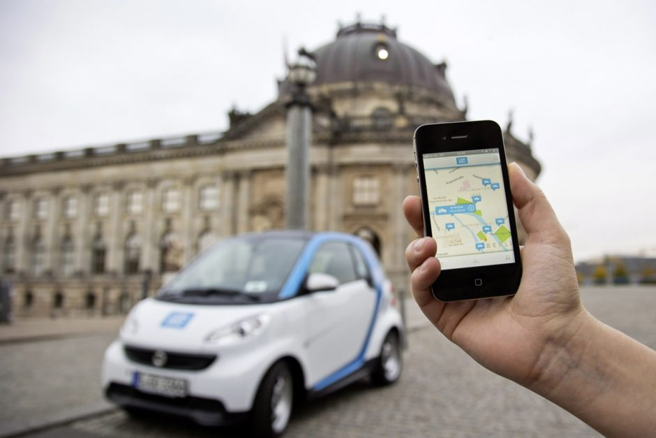 "In Berlin integriert Daimler auch car2go in die Mobilitätsplattform ""moovel"". Foto: Daimler"