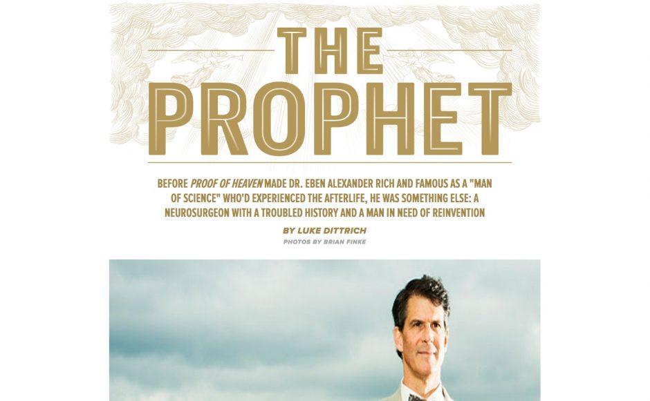"""""""The Prophet"""" ist eine ausführliche Story des Magazins """"Esquire"""", das die Macher auch online stellten – für 1,99 US-Dollar."""
