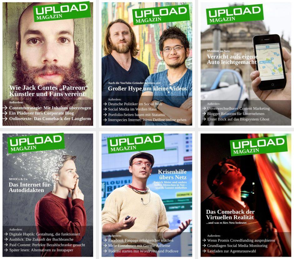 UPLOAD Magazin 2013