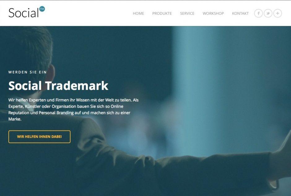 Social Trademarks kümmert sich um den Reputationsaufbau.