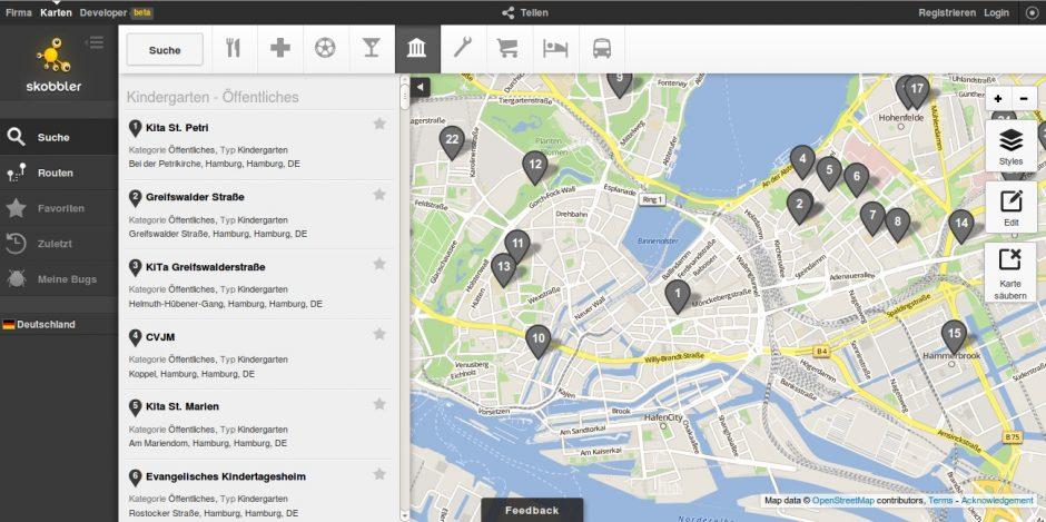 Skobbler Maps