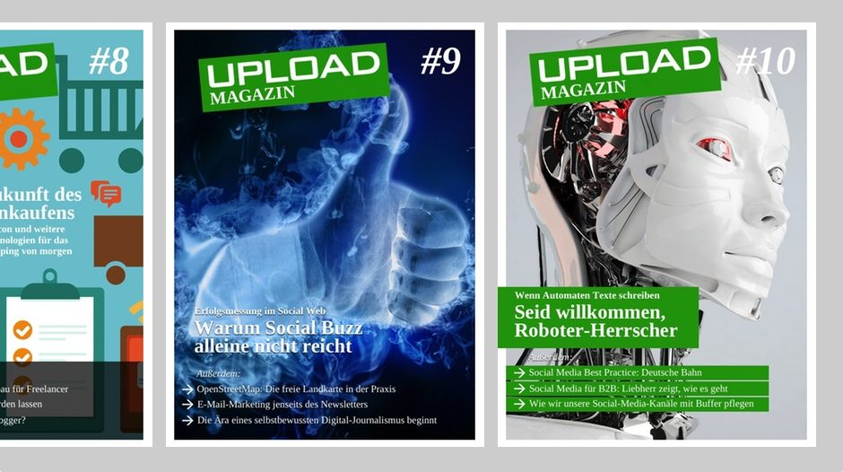 UPLOAD Magazin im Mai 2014