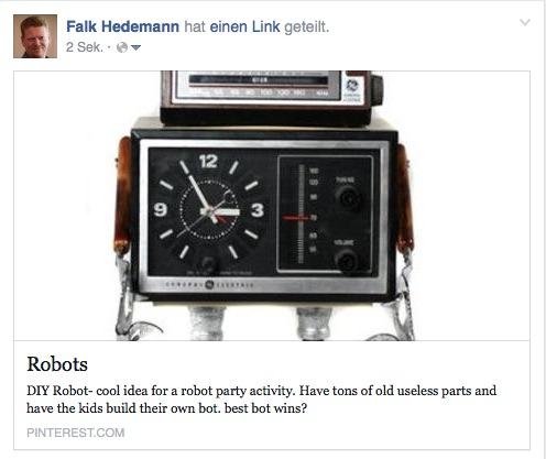 Die Darstellung bei Link-Shares direkt bei Facebook ist immer vom Bildformat abhängig und kann zu unschönen Ergebnissen führen.