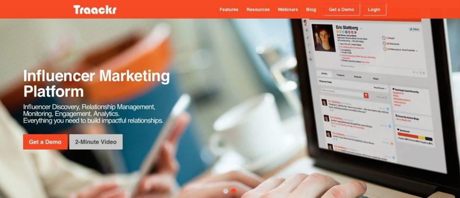 Influencer-Marketing-Plattformen wie Traackr bieten Unternehmen Rundum-Pakete an, deren Qualität schwer vorhersagbar ist.