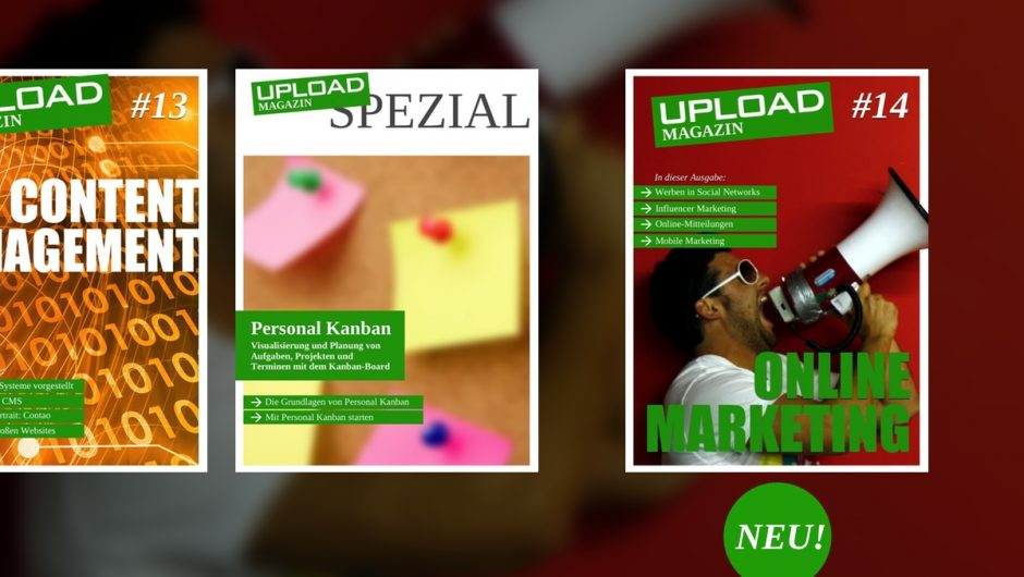 UPLOAD Magazin Nr. 14