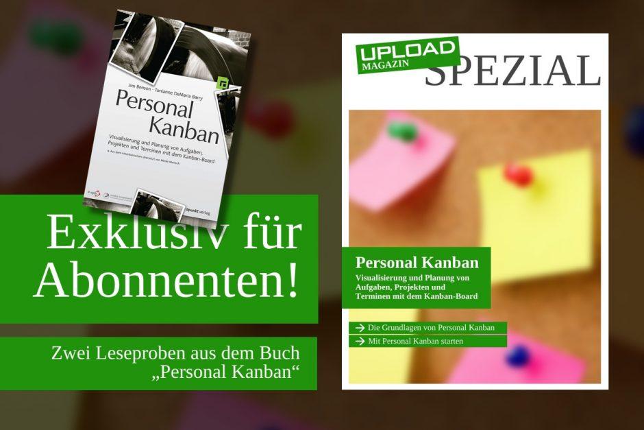 "UPLOAD Spezial ""Personal Kanban"""