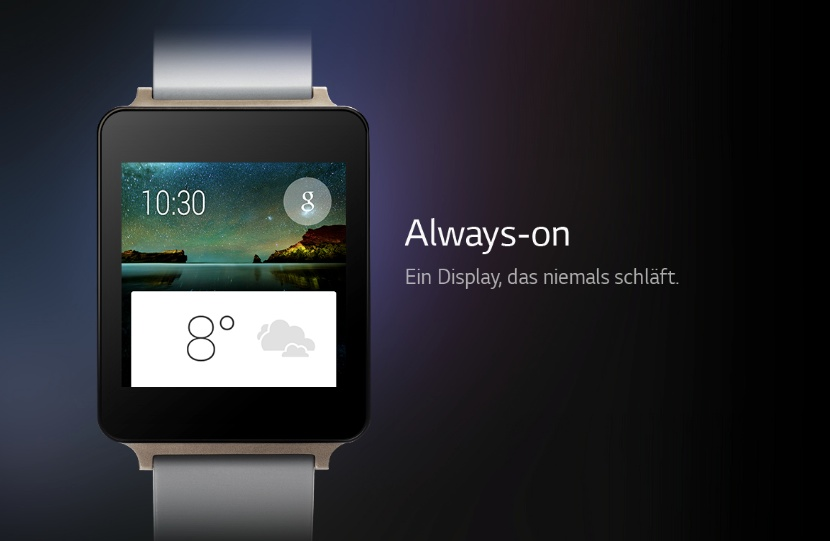 Schläft nie und verbraucht massig Akku: LG G Watch R