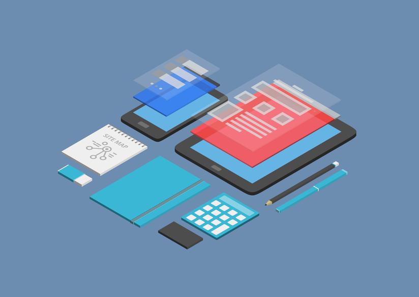 Symbolbild Webdesign
