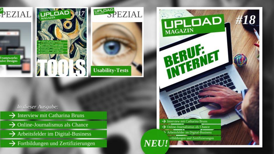 UPLOAD Magazin im Januar 2015