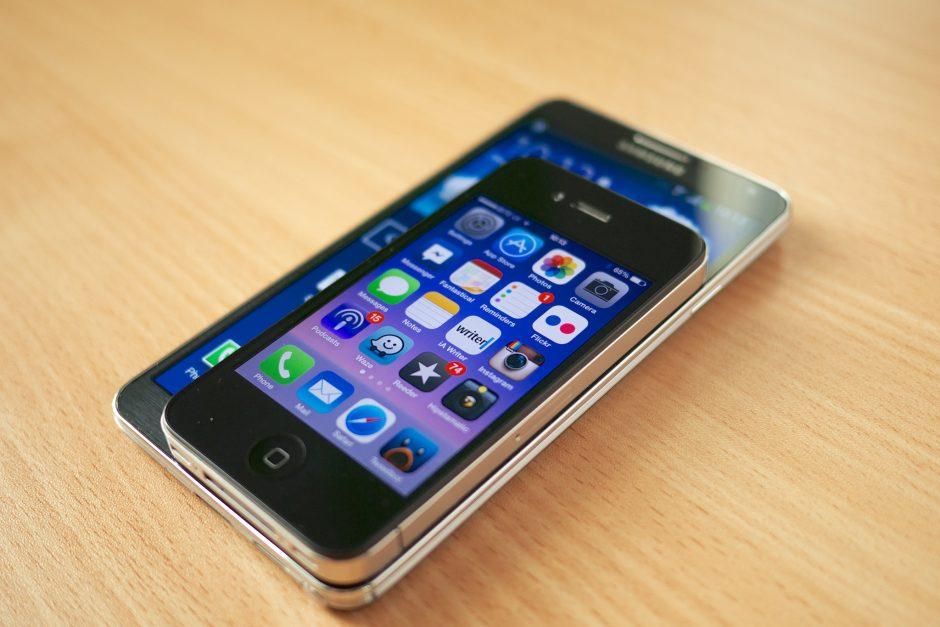 Smartphones und Phablets