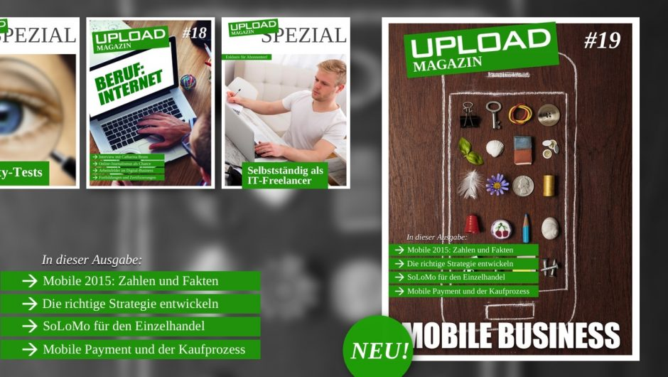 UPLOAD Magazin im Februar 2015