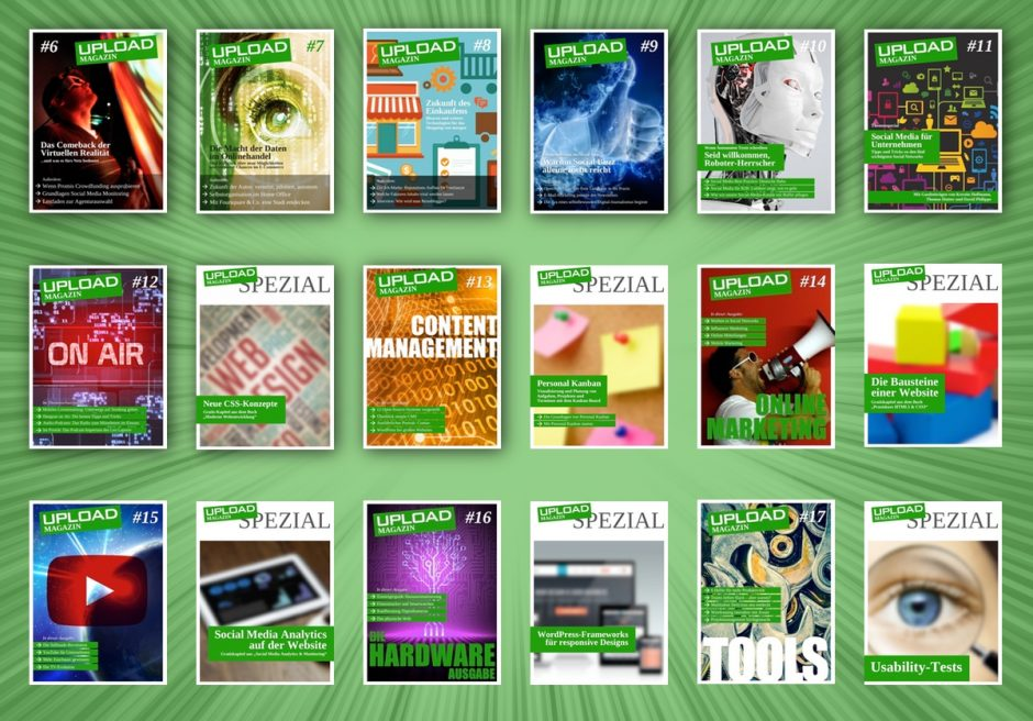 UPLOAD Magazin 2014