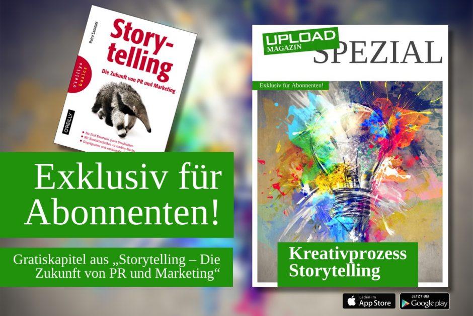 "UPLOAD Spezial ""Storytelling"""