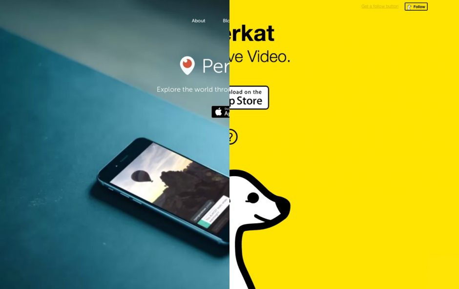 Periscope vs Meerkat