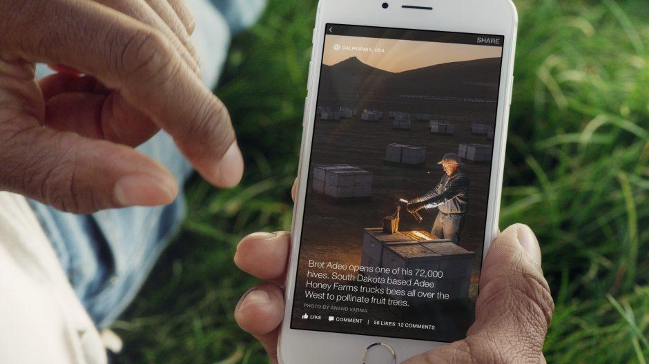 Trotz der Einbindung großer Bilder und anderer multimedialer Elemente laden die Instant Articles sehr zügig (Bild: Facebook).