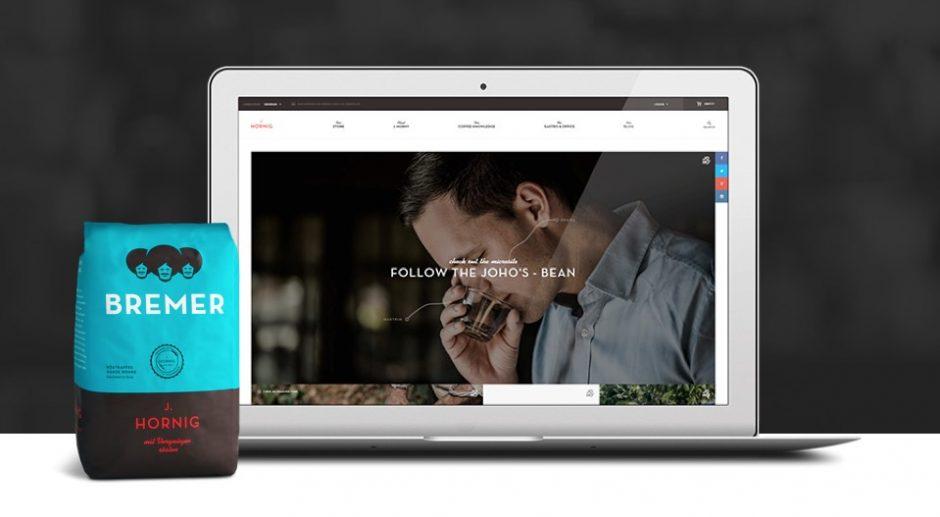 Eigenwerbung auf der Website von WooCommerce.