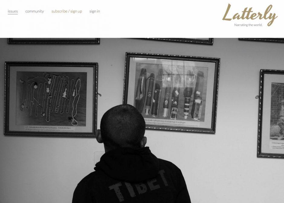 Das Latterly Magazine wird mit Press-Room erstellt, das wiederum im Kern auf WordPress setzt.
