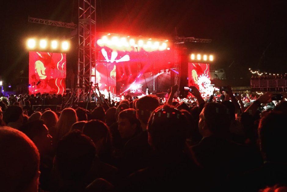 """Dance, motherfuckers!"" Foo Fighters live. (Foto: Jan Tißler)"