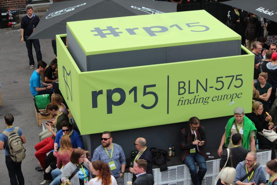Events wie die re:publica eignen sich für mich perfekt für das Networking.