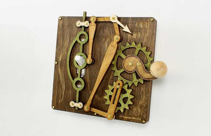 Simple Aufgaben mit überkomplexen Maschinen zu lösen hat sich spätestens seit Rube Goldberg zu einer eigenen Disziplin entwickelt. Quelle: Etsy