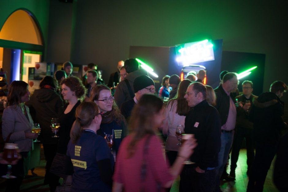 Abschlussparty der Social Media Week Hamburg 2015