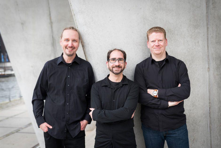 Jan Tißler, Sebastian Schürmanns, Falk Hedemann (Foto: Patrick Lux für UPLOAD Magazin)