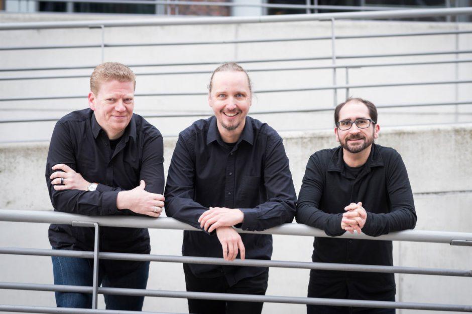 Falk Hedemann, Jan Tißler, Sebastian Schürmanns (Foto: Patrick Lux für UPLOAD Magazin)