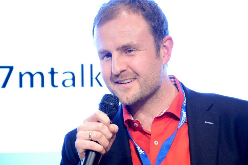 """Florian Treiß beim 17. """"Mobilisten Talk"""""""