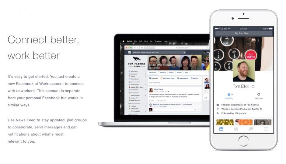 Facebook für die nicht öffentliche, interne Nutzung im Unternehmen.