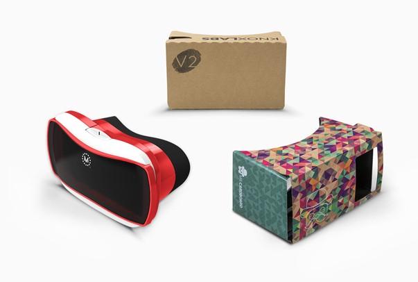 Viele Brillen, ein Konzept - Cardboard. (Foto: Google)