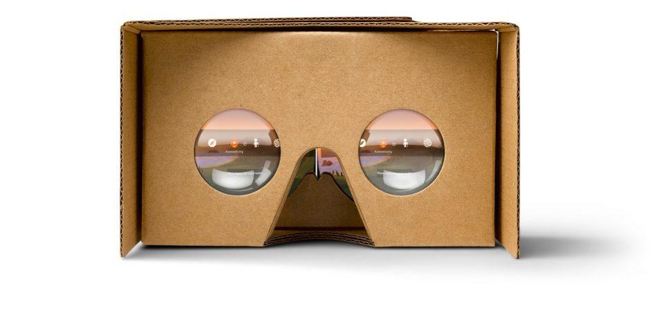 Google verkauft eigene Pappbrillen. (Foto: Google)