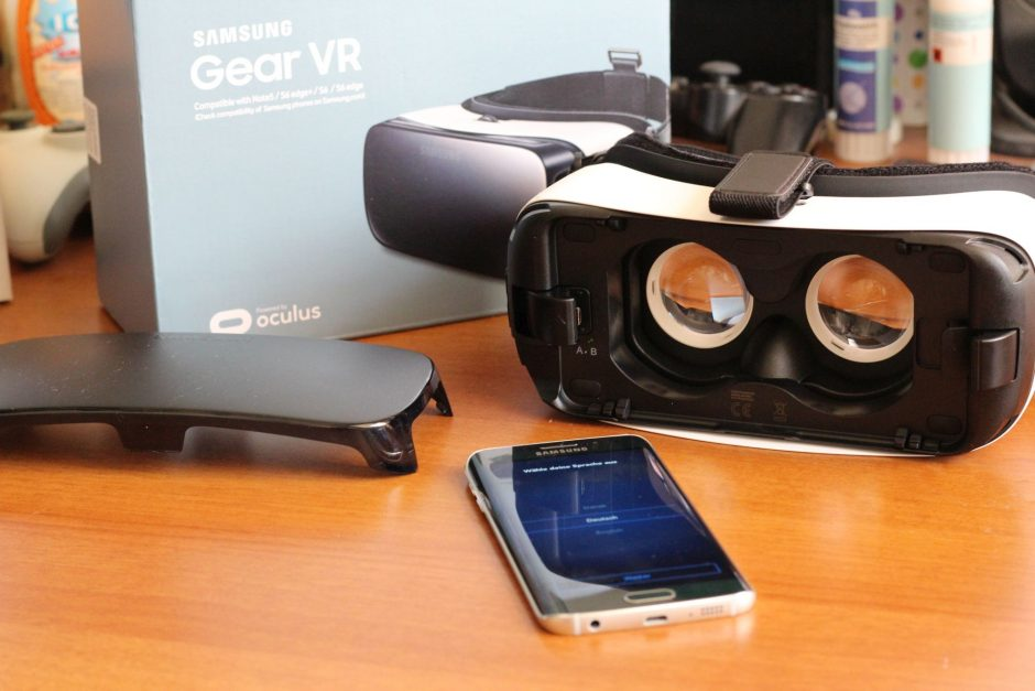 Samsungs Gear VR. (Foto: Sven Wernicke)