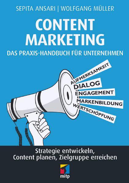 Cover des Buchs Content Marketing bei mitp